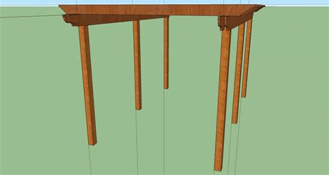 Pergola Joist Beam Sizing Help Decks Fencing Pergola Span Tables