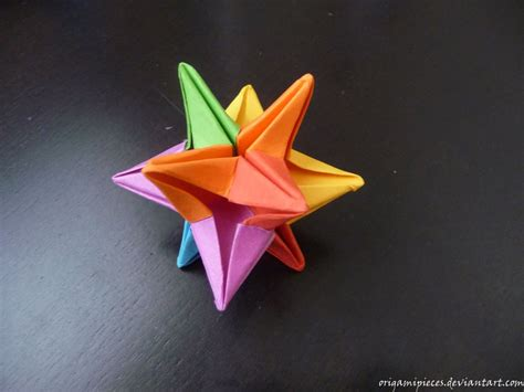 Origami Omega - origami omega by origamipieces on deviantart