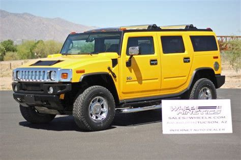 repair anti lock braking 2005 hummer h2 navigation system buy used 2005 hummer h2 4x4 navigation moonroof leather 6 0l 4wd 39k miles see video in tucson