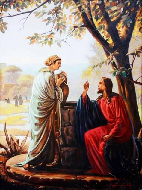 imagenes de jesus y la samaritana im 225 genes de jes 250 s y la mujer samaritana imagenes de