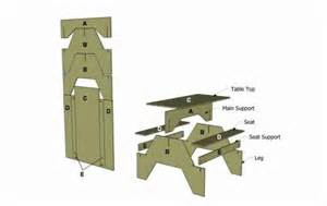 Picnic Table Bench Plans Woodworking 1 Sheet Plywood Picnic Table Plans Plans Pdf