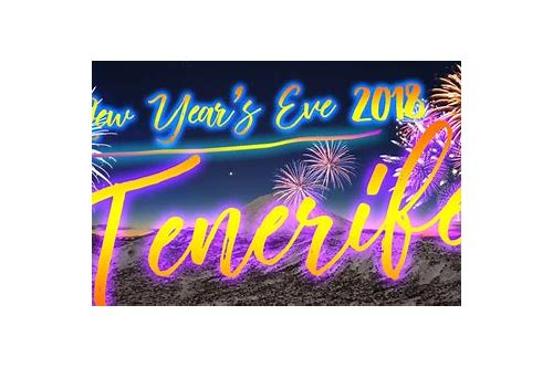 tenerife deals new year