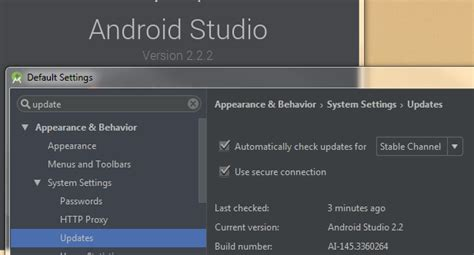 how to update android studio intellij idea can t update android studio only stack overflow