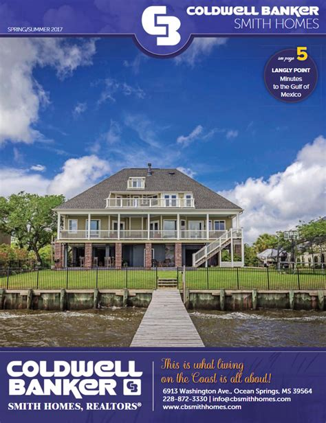 coldwell banker smith homes launches luxury home magazine