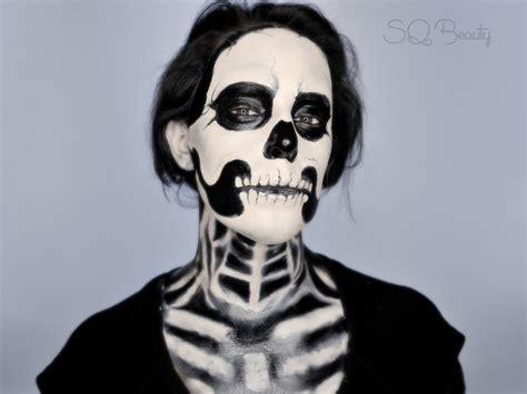maquillaje para hombres esqueleto maquillaje halloween esqueleto tutorial silvia quir 243 s