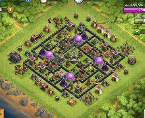 Best Town Hall 9 Farming Base 4 Mortars » Home Design 2017