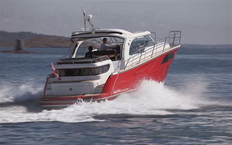boat show nec 2019 marex 320 b 225 tur is