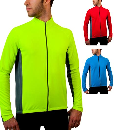 mens cycling jackets sale big men s formaggio long sleeve cycling jersey