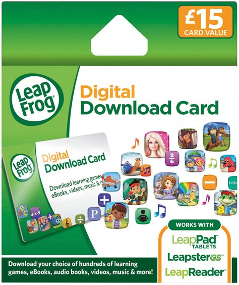Leapfrog Gift Card - leapfrog explorer app centre download card for leappad and leapster amazon co uk