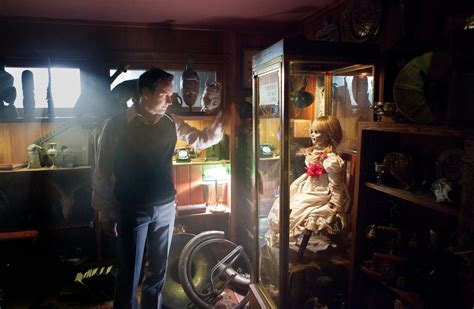 annabelle doll kept in museum the diner the s hour the conjuring