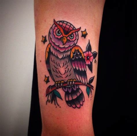 owl tattoo american traditional traditional owl tattoo traditional tattoos pinterest