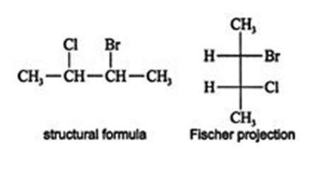 Projections R 2 Chlorobutane Fischer Projection