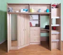 cabin beds stamford sonoma oak high sleeper cabin bed