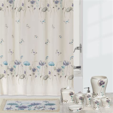 Garden Gate Shower Curtain Shower Curtain And Bath Bathroom Shower Curtains And Matching Accessories