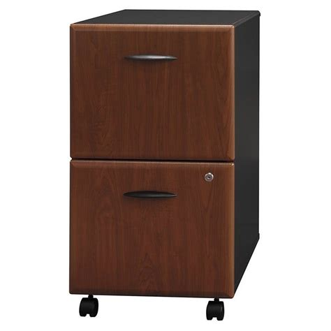 pre assembled file cabinets bush business series a 2 drawer mobile file cabinet in