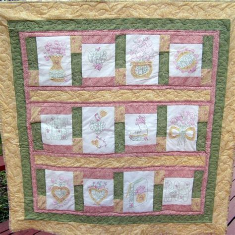 Primitive Quilt Patterns Free by Free Birthday Stitchery Pattern Quot Stitchery Pattern Of