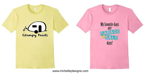 design t shirt amazon michelle james designs t shirts on amazon cing and