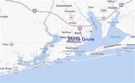 myrtle florida map myrtle grove tide station location guide