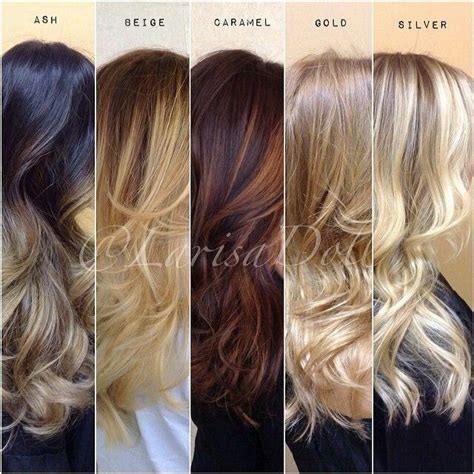 types of ombre hair color pin by brooklynn on hair styles colors cuts