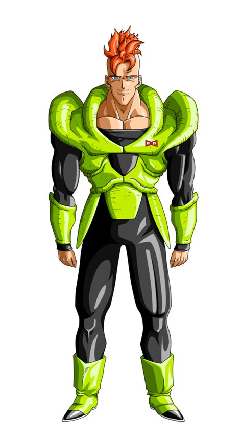 z android 16 android 16 villains wiki fandom powered by wikia