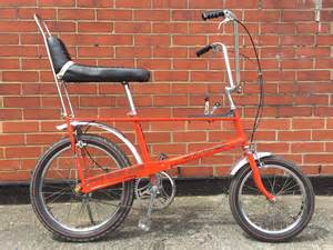 white bicycles in the 1960s serpent s classics books raleigh chopper