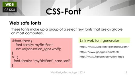 new design font css css font text style