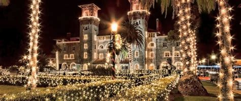 Festival Of Lights St Augustine by St Augustine Florida Things To Do Family