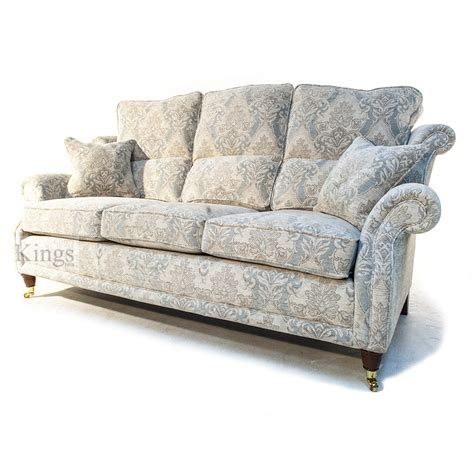 Floral Sofas by Wade Upholstery Hollinwell Three Seater Sofa In Floral Fabric