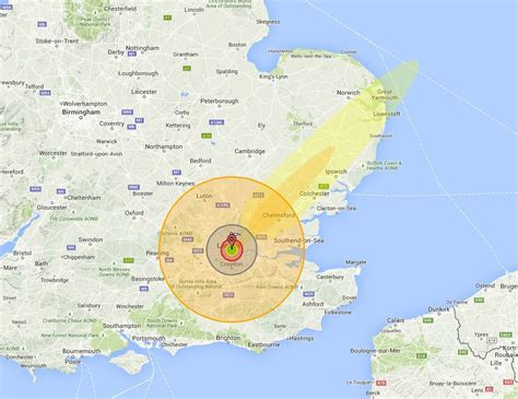nuclear map nuke map see what a nuclear bomb would do to your home