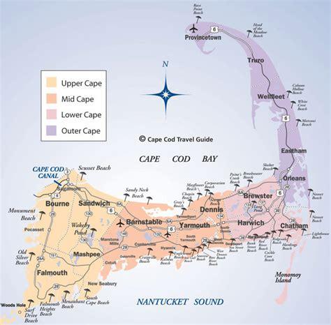 friendly beaches cape cod cape cod beaches map