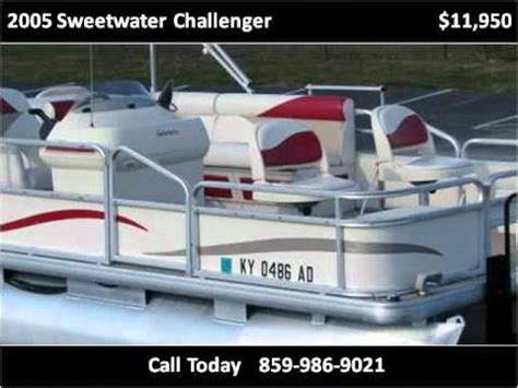 2005 sweetwater pontoon 2005 sweetwater challenger used cars berea ky youtube