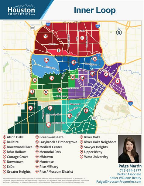 houston zip code map inner loop martin s houston real estate insights