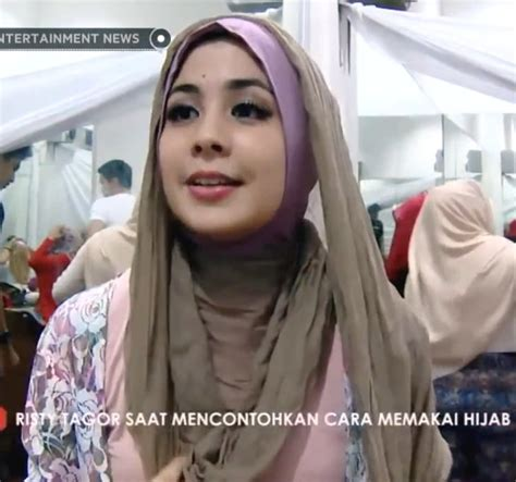 tutorial hijab tanpa peniti jarum pentul ala risty tagor tutorial hijab tanpa peniti jarum pentul ala risty tagor