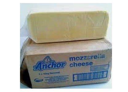 Keju Mozarella Anchor jual beli keju mozarella anchor 1kg baru jual beli