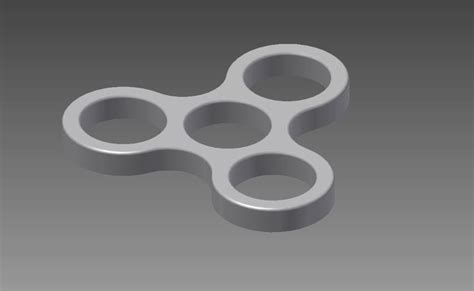 3d Spinner Design 3d printed fidget spinner by degs pinshape