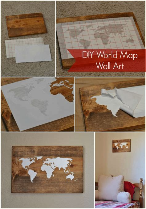 diy world map wall decor diy world map wall i ll do it myself