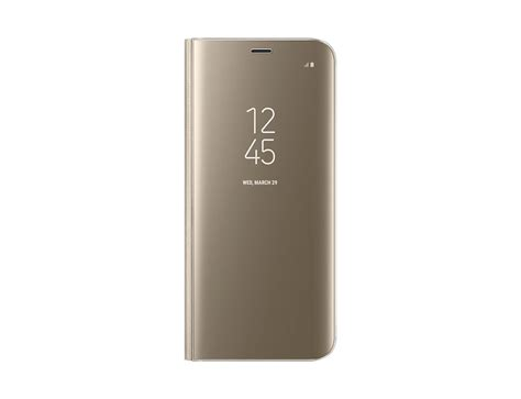 Harga Samsung S8 Warna Gold samsung galaxy s8 cover harga gold clear view standing
