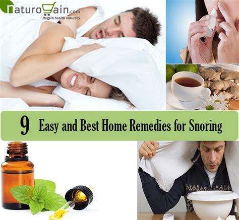 9 easy and best home remedies for snoring