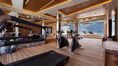 water workouts   superyacht gyms   world