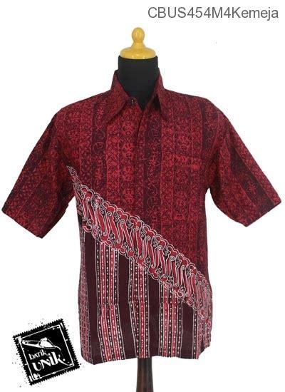 Kaos Lengan Pendek 454 sarimbit kemeja motif parang sarpa kemeja lengan pendek murah batikunik