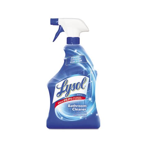bathroom cleaner brands lysol brand disinfectant bathroom cleaners rac02699
