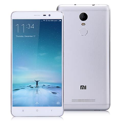 Xiaomi Redmi Note 3 Pro Metallic And Tree Bark Textured xiaomi redmi note 3 pro 5 5 inch fhd 3gb 32gb smartphone