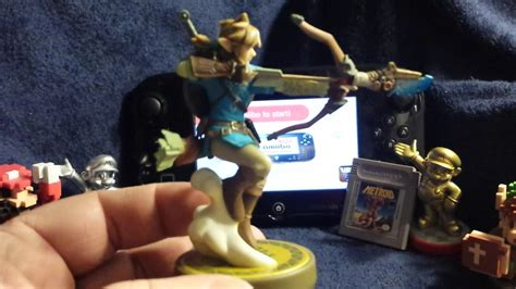 Amiibo Link Archer The Legend Of Breath Of The unboxing legend of breath of the link archer amiibo