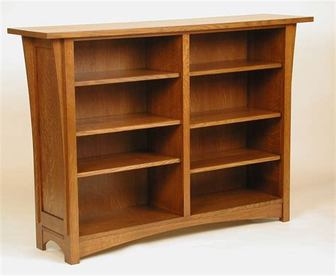 craftsman bookcase residential furnishings 171 oak woodworking