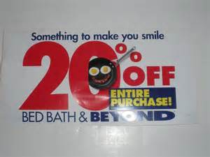 Do Bed Bath And Beyond Coupons Expire by 20 Bed Bath Beyond Entire Purchase Does Not Expire