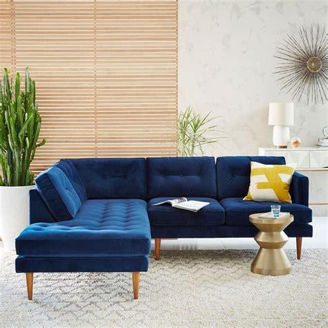 mid century chaise sofa peggy mid century set 2 right arm sofa left terminal