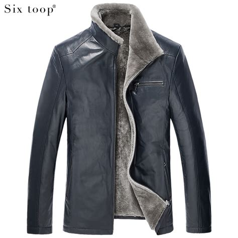 Leather Jaket Exclusive Leather Hoodie luxury brief goatskin fur coat high end leather clothing design stand collar fur one