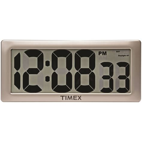 wall clock digital very small digital wall clock