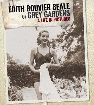 edith bouvier beale  grey gardens  life  pictures