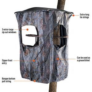 Hunting Blinds At Walmart Universal Tree Stand Blind Cover Deer Hunting Ez Install